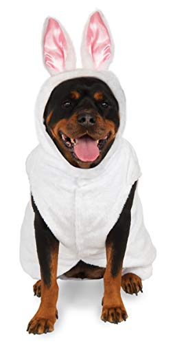 Rubie's Costume Co Big Dog Boutique Bunny Hoodie, XX-Large