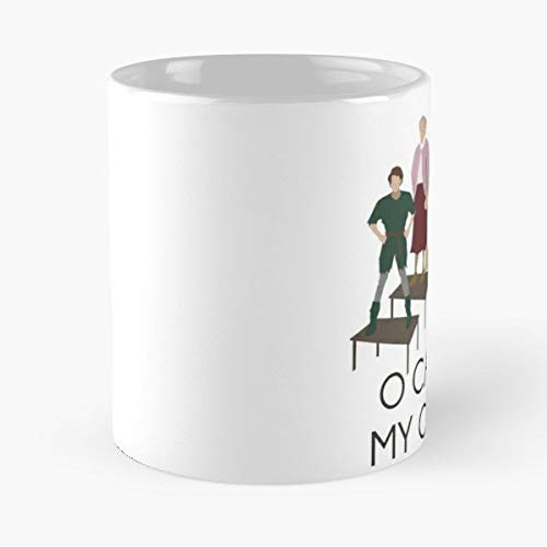 Robin Williams Tribute - 11 Oz Coffee Mugs Unique Ceramic Novelty Cup, The Best Gift For Holidays.