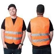 OccuNomix Occulux Class 2 Mesh Hi-Viz Orange Vest, (Lux Mesh Vest)