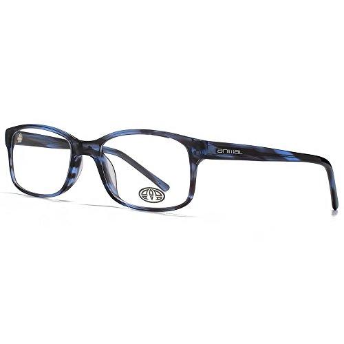 Animal Lunettes Rectangle Timson classique en noir ANIS016-BLU clear