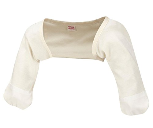 ScratchSleeves | Stay-On Baby Scratch Mitts (3-6 months (wingspan 24-26inches), Cream And...