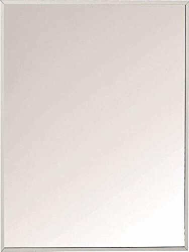 Zenith Products X311 Stainless Steel Frame Swing Door Medicine Cabinet, Surface or Recess Mount, 16.13