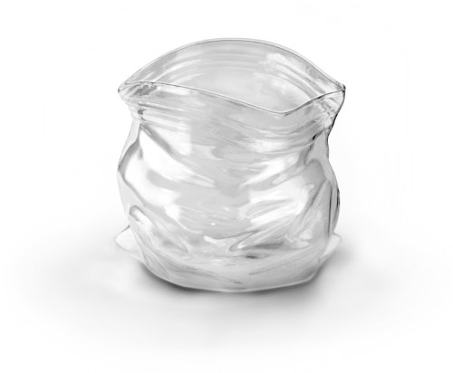 Fred UNZIPPED Hand-Blown Glass Bowl (Glass Candy Dish Bowl)