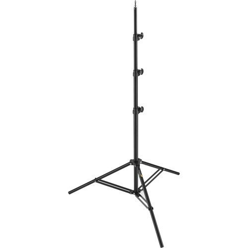 Impact Air-Cushioned Light Stand (Black, 8') LS-8AI New Version by Impact