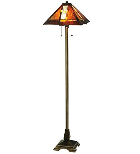 Meyda Tiffany 118710 Montana Mission Floor Lamp, 61