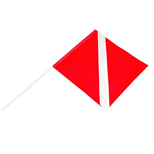 Riffe Torpedo Float Dive Flag ()