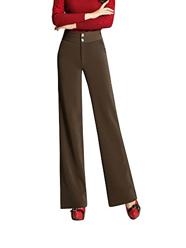 Brown Womens Pant Suit - 1