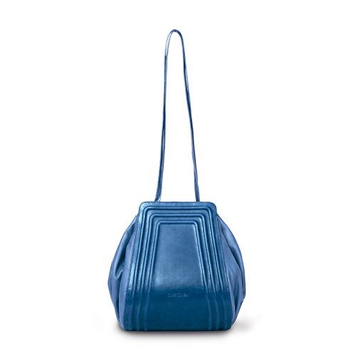 Shoulderbag French Small Gretchen Blue Tango PxYOC