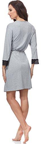 Italian Fashion IF Bata para mujer Madam Melange