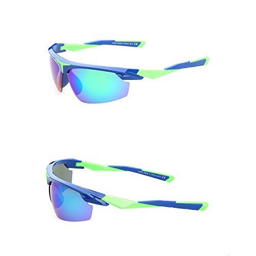 Ciclismo Al La Polarizados Blueandgreenframe Gafas blueandgreenframe Deportes Sol Aire Pesca Escalada De De Gafas Sol Polarizado Aire Al De Libre La Gafas Personalidad Sol Libre Turismo De De De Manera ftPt8g