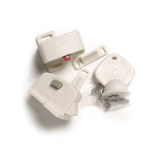 Price comparison product image Safety 1st Magnetic Cabinet Locks,  2 Locks + 1 Key