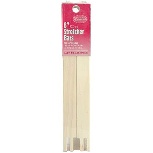 Edmunds Regular Stretcher Bars for Needle Art, 8 by 3/4-Inch (Renewed) (Edmunds Regular Stretcher Bar)