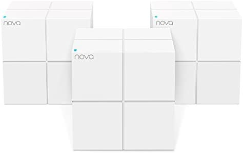 Tenda MW6 Nova Wave 2 802.11AC, Mu-Mimo Whole Home Wi-Fi Mesh System, 3-Pack - 10164258 , B076JLJVTG , 285_B076JLJVTG , 4801379 , Tenda-MW6-Nova-Wave-2-802.11AC-Mu-Mimo-Whole-Home-Wi-Fi-Mesh-System-3-Pack-285_B076JLJVTG , fado.vn , Tenda MW6 Nova Wave 2 802.11AC, Mu-Mimo Whole Home Wi-Fi Mesh System, 3-Pack