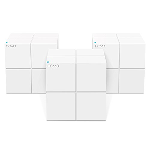 (Tenda MW6 Nova Wave 2 802.11AC, Mu-Mimo Whole Home Wi-Fi Mesh System, 3-Pack)