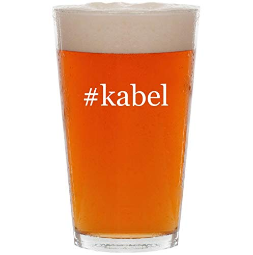 Price comparison product image #kabel - 16oz Hashtag Pint Beer Glass