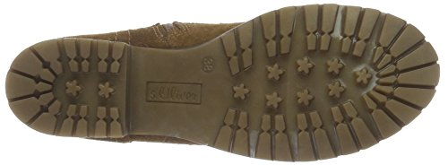 Women's s 25207 Brown Ankle Camel 310 Oliver Boots On5gqnafR