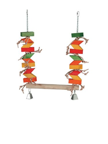 Paradise Toys XL Parrot Swing, 20-Inch W by 30-Inch L by Paradise Toys
