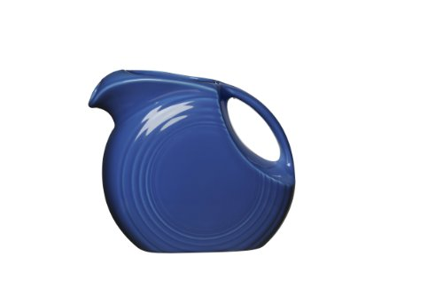- Fiesta 67-1/4-Ounce Disk Pitcher, Large, Lapis