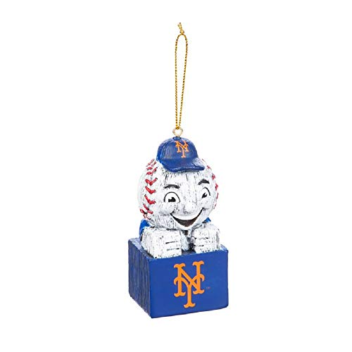 Evergreen MLB New York Mets OrnamentTiki Design, Team Colors, One Size]()