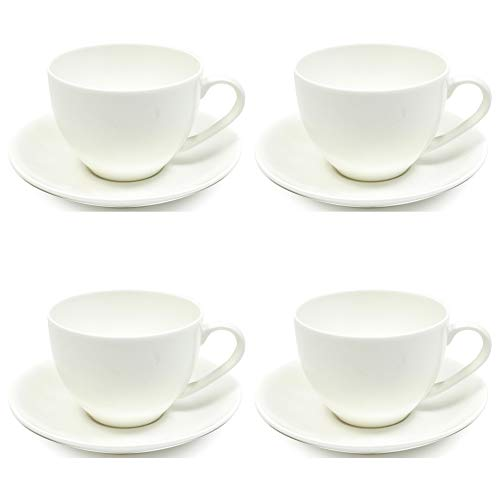 Maxwell Williams 5245564 Cashmere Tea Cup and Saucer Set, Fine Bone - China Williams Cashmere Bone