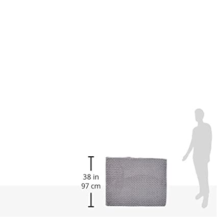 38 x 51 cm Cama para mascota de espuma ergon/ómica Basics