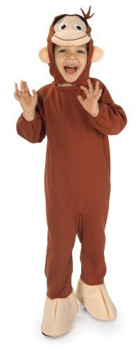 Curious George Costume, Monkey, Small Color: Monkey Size: Small Model: 885286S (Curious George Costume For Adults)