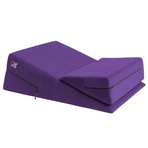 Liberator 24-Inch Wedge/Ramp Combo, Purple Microfiber by Liberator