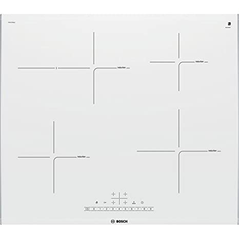 Bosch PIF672FB1E hobs Acero inoxidable, Blanco Integrado Con ...