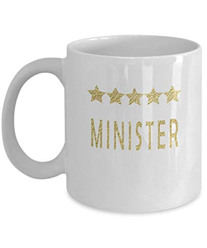Funny Minister Coffee Mug Gift -Five Star Minister Thank You Gift …