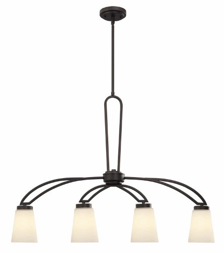 Canarm ICH421A04ORB Somerset 4-Light Chandelier