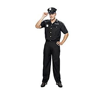 Disfraz de Policía para hombre talla XXL: Amazon.es ...