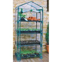 Four Tier Greenhouse with 4 Shelves