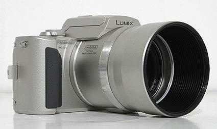 Panasonic Lumix DMC-FZ10S 4MP Digital Camera with 12x Optical Zoom (Silver)