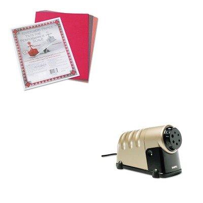 KITEPI1606PAC103637 - Value Kit - X-acto High-Volume Commercial Desktop Electric Pencil Sharpener (EPI1606) and Pacon Riverside Construction Paper (Commercial Paper Volume)