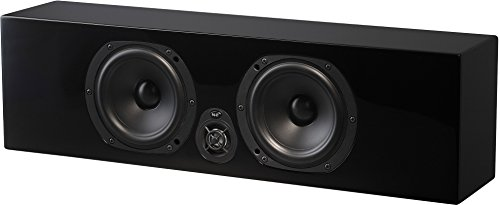 NHT Media Series Slim Center Channel Speaker - High Gloss Black by NHT Audio