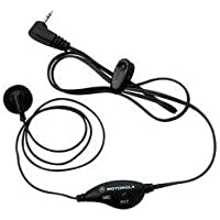 Earbud with Push-to-Talk Microphone Electronic Computer