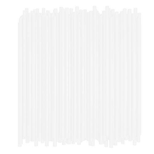 10 Inch Drinking Straws (250 Straws) (10 Inch x 0.28 Inch) (Clear)