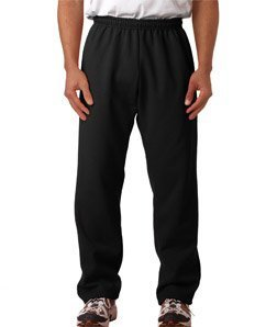 Gildan Mens 8 Oz. Heavy Blend 50/50 Sweatpants (G184) -Black -5XL