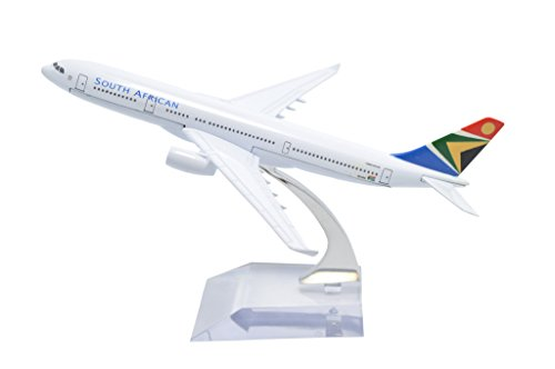 TANG DYNASTY(TM) 1:400 16cm Air Bus A330 South African Airways Metal Airplane Model Plane Toy Plane Model