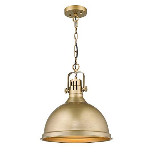 Emliviar 1-Light Farmhouse Pendant Light, 14
