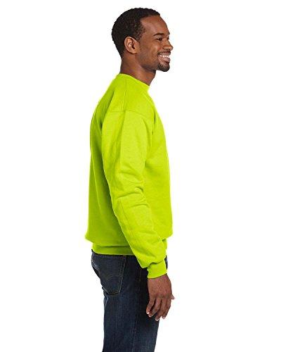 Hombres Green Grün Comfortblend® Hanes nbsp;best De seller nbsp; Sudadera Tripulación Ecosmart® safety U1EdzPxwqE