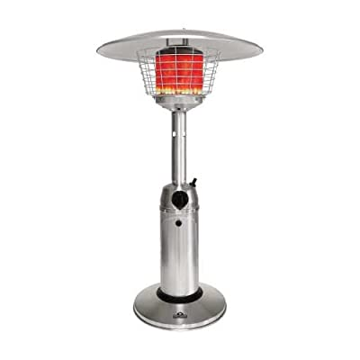 Napoleon Tabletop Patio Heater 11000 BTU Propane, Stainless Steel