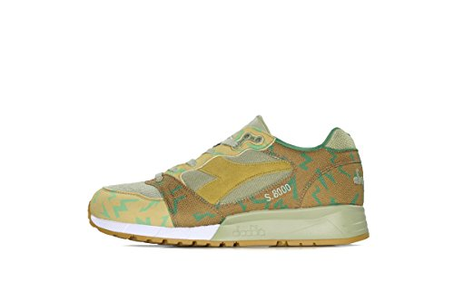 Diadora Mens Boots (Diadora S8000 Camo Mens Multi-Color Textile/Suede Athletic Training Shoes 12.5)