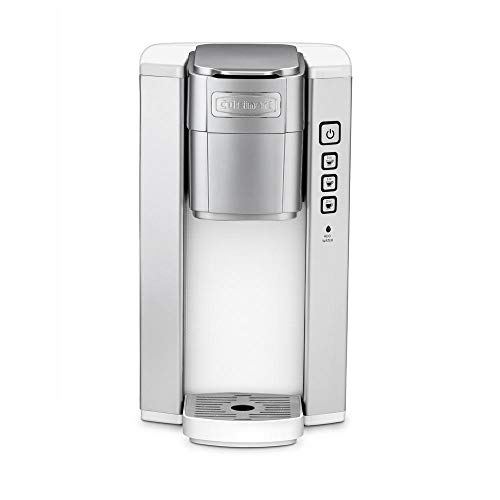 Cuisinart SS-5W Single Serve Brewer, White (Certified Refurbished)