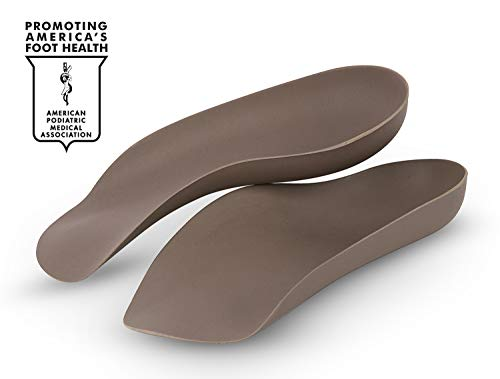 Mod Day Dress - COREFIT SELF MOLDABLE CUSTOM ORTHOTICS (Podiatrist Grade 3/4 Shoe Inserts) for Plantar Fasciitis, Arch & Heel Pain. Dress/Sport Arch Support (Rigid Orthotics, Handcrafted in USA) Mens 9 / Womens 11