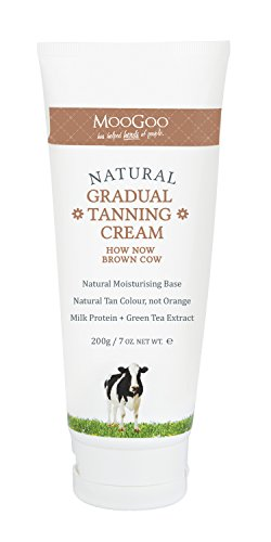 MooGoo Natural Gradual Tanning Cream How Now Brown Cow 7 oz