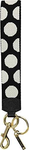 - Marc Jacobs Women's Polka Dot Webbing Bag Charm Black Multi One Size