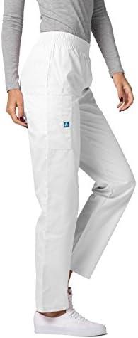 Adar Universal Pantalon M/édical Unisexe Pantalon Fusel/é avec Cordon