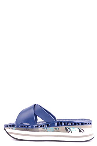 Cuir Bleu Premiata Femme Sandales Mcbi32781 q4Z1Zg