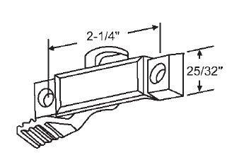 stb-window-sweep-latch-for-sash-lock-metallic-gold-716-latch-projection-2-14-screw-holes